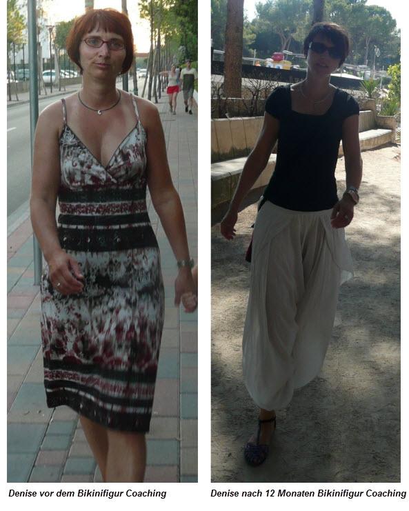 denise - vor und nach bikinifigurcoaching