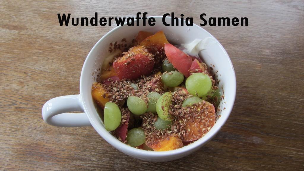 Chia-Samen-Diät zur Gewichtsreduktion