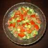 Salat mit Avokados ( Guacamole)