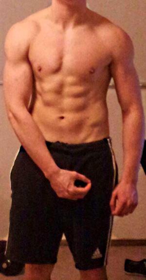 Mann guter körper Idealer Körperfettanteil: